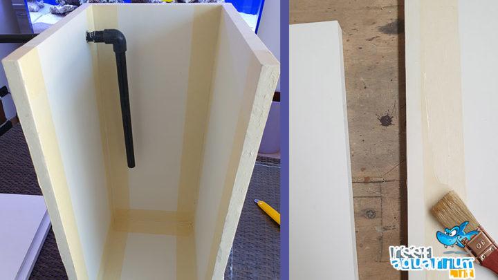 Realizzare una vasca di rabbocco in forex e plexiglass