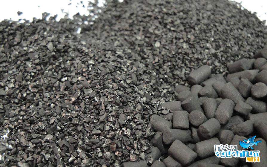 Carbone attivo in diverse granulometrie