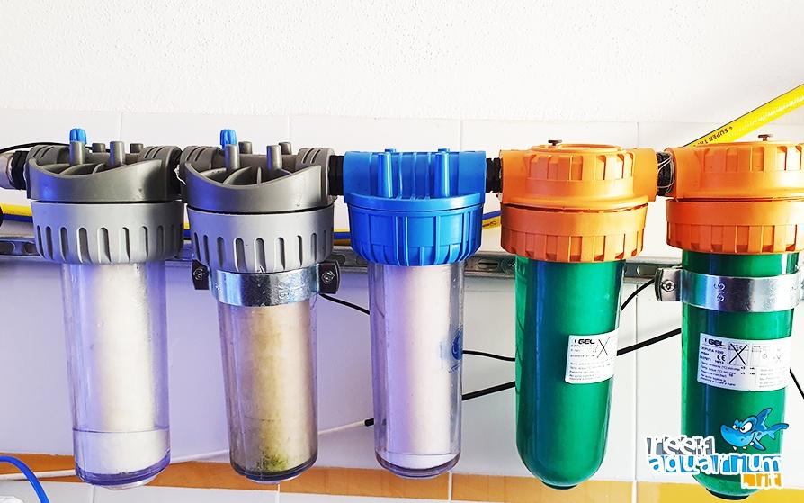 Camere di filtrazione aggiunte al mio impianto