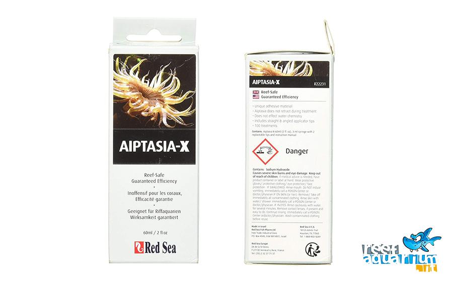 Aiptasia-x - È facilmente iniettabile in prossimità della cavità orale dell'anemone e lo stimola ad ingerire il materiale senza che questo si ritiri nell'alveo della roccia.